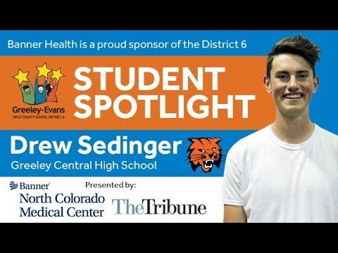 Student Spotlight: Drew Sedinger