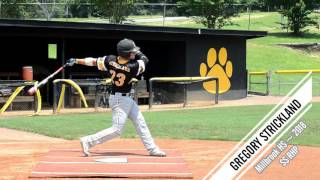 Gregory Strickland SS RHP - Baseball Recruiting Video - Class of 2018