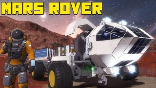"Space Engineers: Mars Rover!!! ""The Martian"" Movie, the Red Planet, Matt Damon"
