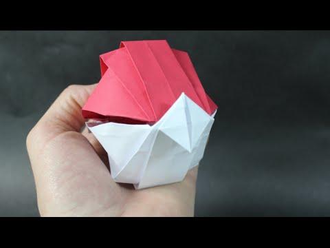How To Make An Origami Poke Ball