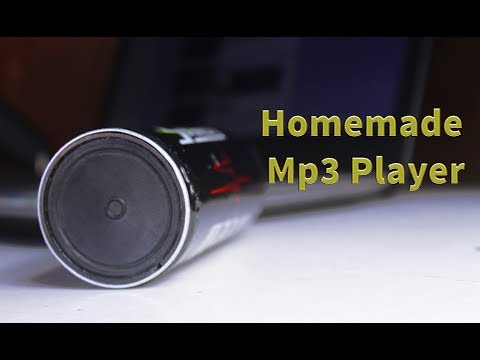 How to Make mp3 player with Aluminum Can