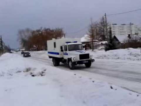 полиция автозак газ 3309