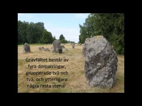 Norrby stenar - Närkes ståtligaste domarringar.