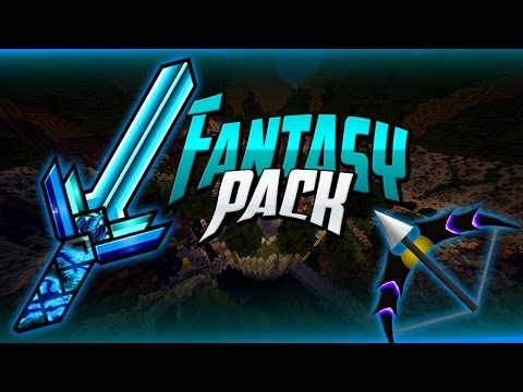 Minecraft PvP Texture Pack - FANTASY PVP PACK - Amazing Custom HD Swords, Bow, Low Fire