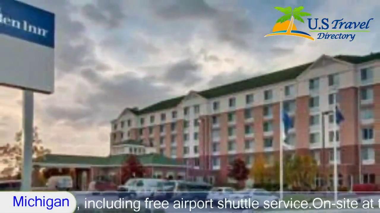 Hilton Garden Inn Detroit Metro Airport 3 Stars Hotel in Romulus