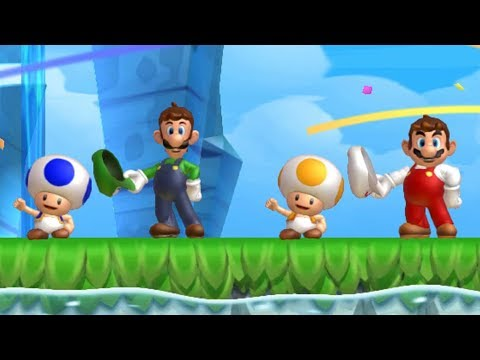 New Super Mario Bros. U - Coin Battle (4...