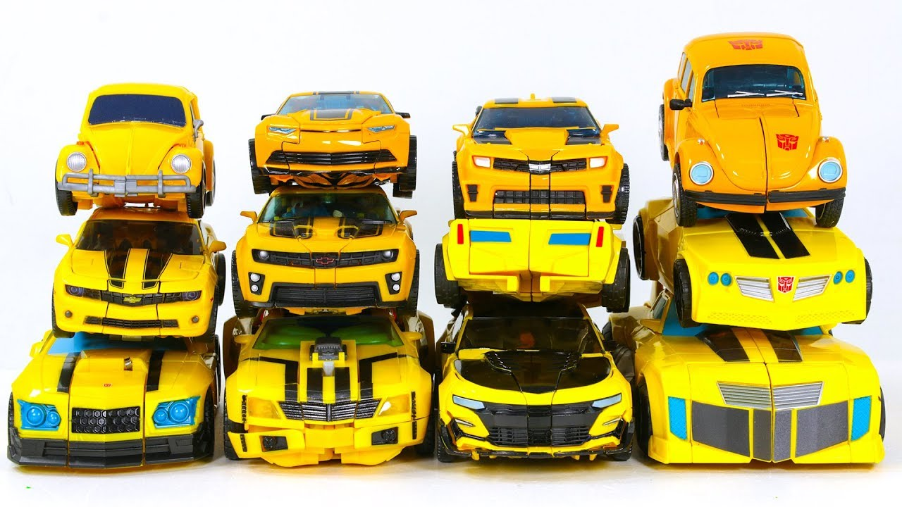Download Transformers G1 RID Cyberverse Movie Prime  Generations Bumblebee 12 Car Robot Toys