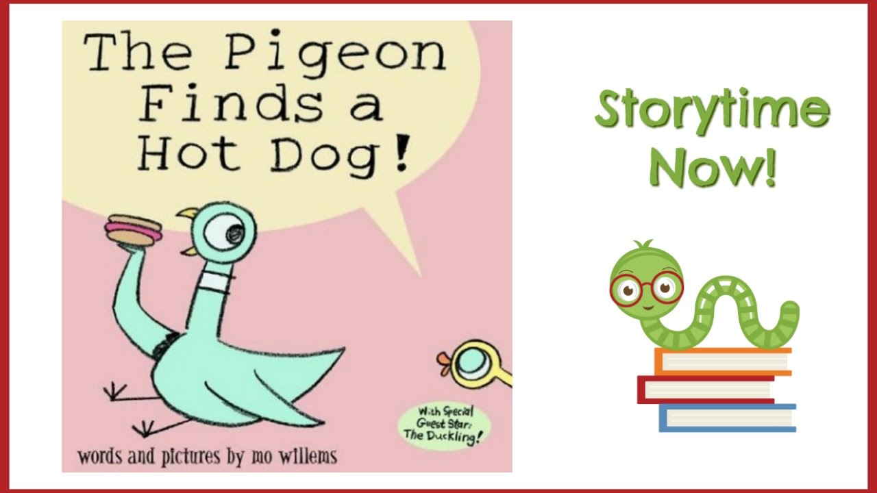 The Pigeon Finds A Hot Dog Video