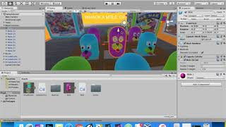 Unity3D VR:  Whack A Mole Game…