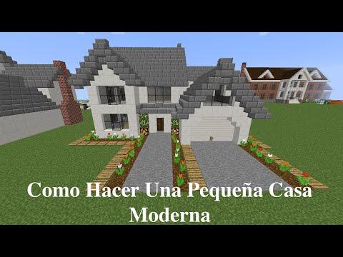 Como hacer una linda casa moderna en minecraft pt1 for Como hacer una casa moderna y grande