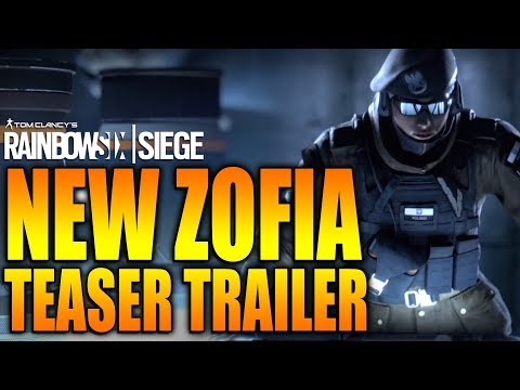 Rainbow Six Siege - In Depth: NEW ZOFIA TEASER TRAILER - Operation White Noise DLC