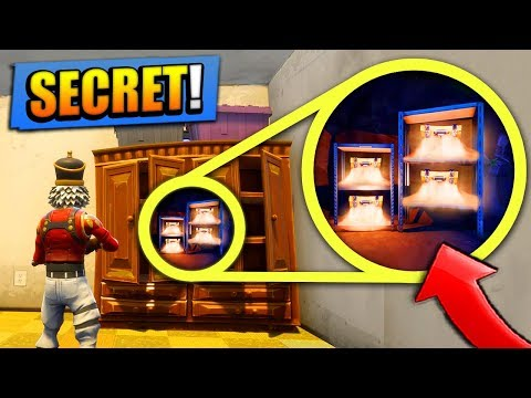 NEW *SECRET* LOOT SPOTS in Fortnite: Battle Royale! (+ LOCAT
