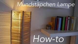 DIY Eisstiel Designer Lampe aus 2300 Stielen ★MrHandwerk ★