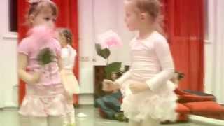 Новогодний открытый урок Младшая детская группа 3 - 5 лет