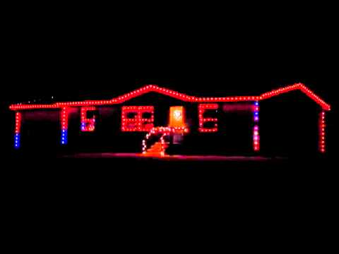 2012 Christmas Lights Show (GE Color Effects lights running on ...