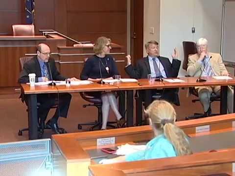 IU McKinney Law Professor Rob Katz moderates panel on Indiana's Religious Freedom Law (RFRA)