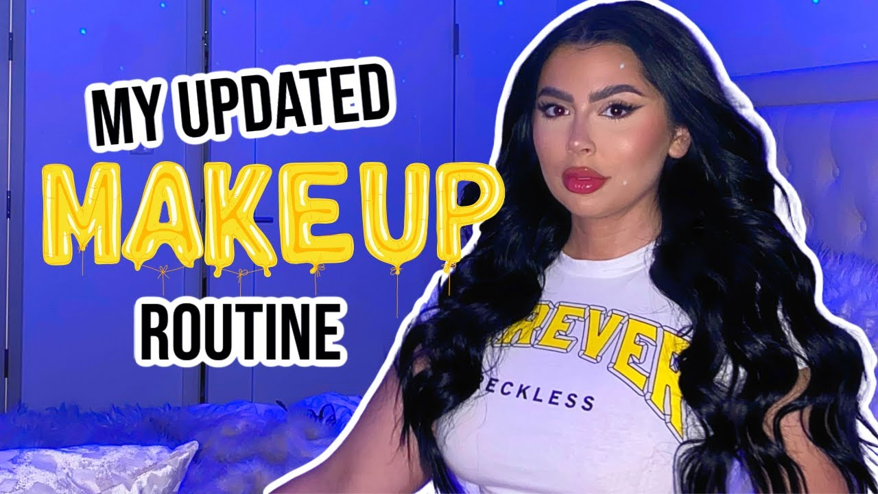 My *updated* makeup routine ♡