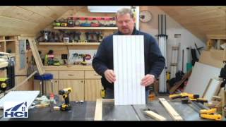 How To Make Shaker Style Cabinet Doors With Beadboard Panels