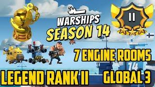 Boom Beach Warships Season 14 Legend Rank II 84 Stars