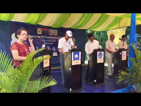 Facebook Live: Debate Parties Forum in Battambang
