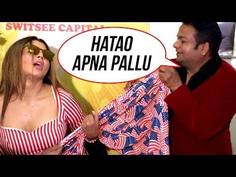 Rakhi Sawant & Deepak Kalal's TALKS In Front Of Media