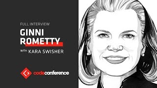 Artificial intelligence will change everything  | Ginni Rometty, CEO IBM | Code Conference 2016