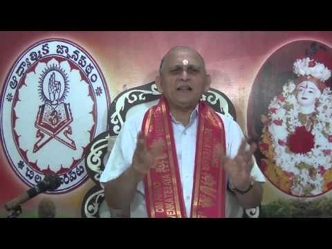 Mundakopanishad : Day 23 : 2nd Mundakam - 2nd Khandam - Mantram 7 8 : Sri Chalapathirao