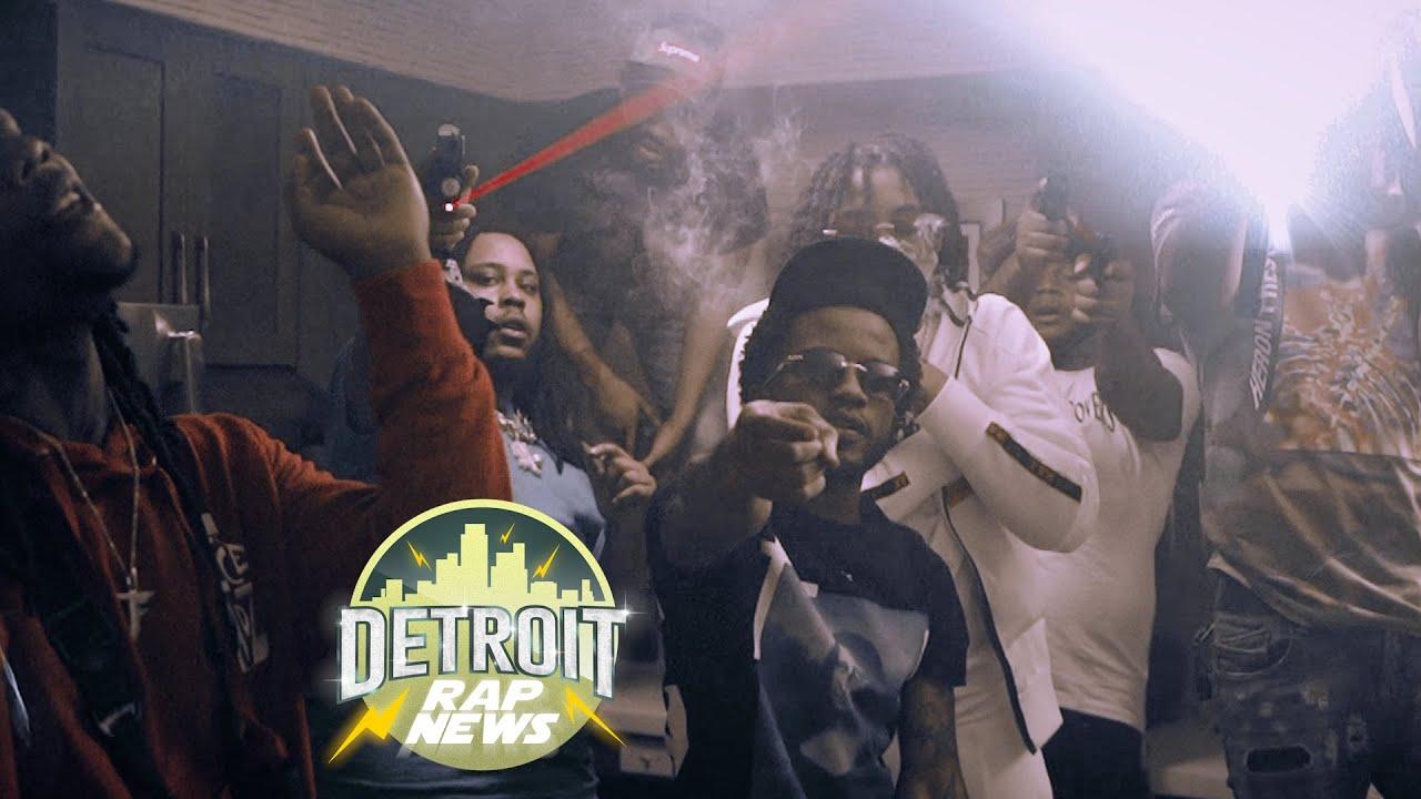 Download Glockboyz Tez & Teejaee - Beef Pt.3 DetroitRapNews Exclusive (Official Video)