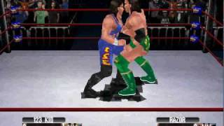Razor Ramon vs 123 Kid (WWF No Mercy old school Wrestling)