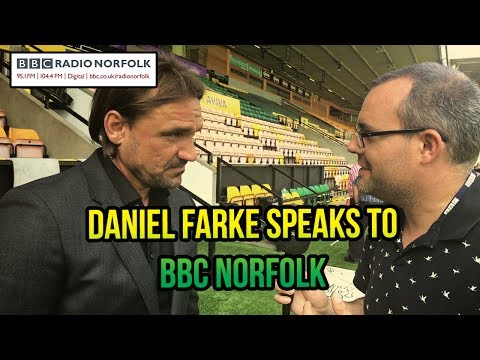 BBC Radio Norfolk speaks to new Norwich City head coach Daniel Farke for the first time.