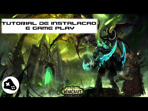 Tutorial e gameplay World of Warcraft no Linux - How to WoW on Linux