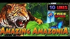 Amazing Amazonia - Slot Machine - 10 Lines + Bonus