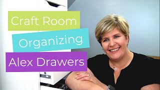 Clean with Me | Alex Drawer Organization | Craft Room Organizing Tips