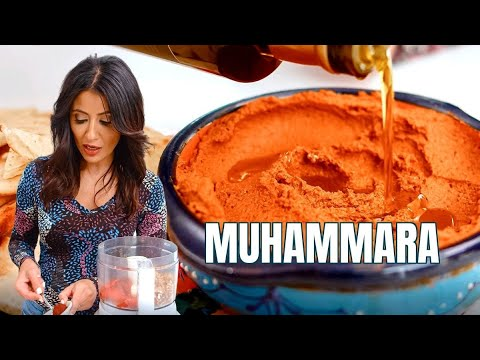 Muhammara The Ultimate Roasted Red Pepper Dip
