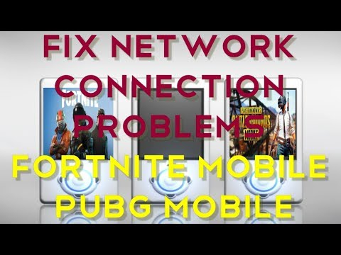 how to fix network connection problems in fortnite mobile pubg mobile android ios - problems with fortnite mobile