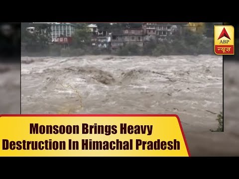 Arrival Of Monsoon Brings Heavy Destruction In Himachal Pradesh | ABP News