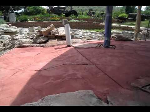 Stamped Concrete Gone Bad Corn Crib Part Three Of Three