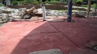 Stamped Concrete Gone Bad-corn Crib-part Three Of Three