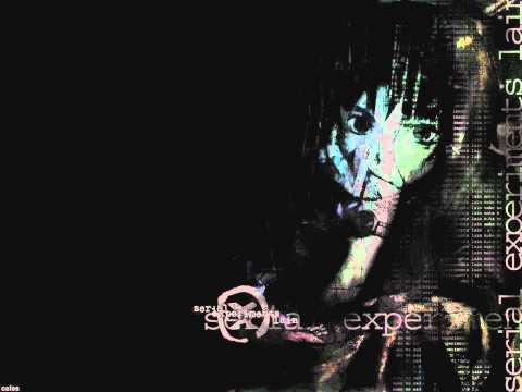 Lain Full Opening with Lyrics Karaoke Style (Serial Experiments Lain, Anime) HD
