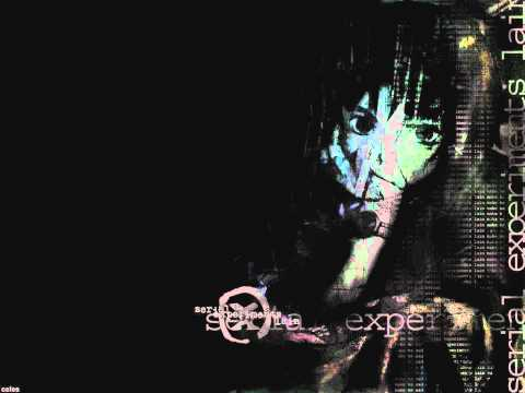 Lain Full Opening with Lyrics Karaoke Style (Serial Experiments Lain, Anime) HD