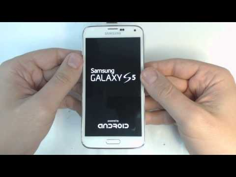 Samsung Galaxy S5 G900F hard reset