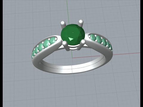 Tutorial - Make Ring with Grasshopper  and Custom Commands thumbnail