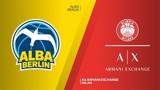 ALBA Berlin - AX Armani Exchange Milan Highlights | Turkish Airlines EuroLeague, RS Round 20