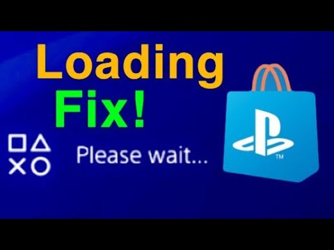 "PS4 HOW TO FIX PLAYSTATION STORE ""Please Wait"" NOT LOADING! EASY NEW!"