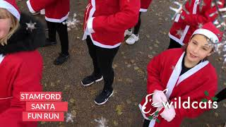 Stamford Burghley Santa Run 2019 - Promo Video featuring Wildcats Theatre School