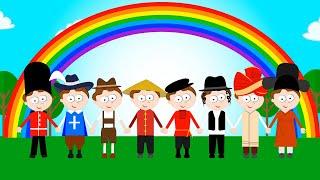 Песенка для детей. Привет на всех языках. Hello songs kids