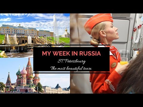 My week in Russia, Saint Petersbourg