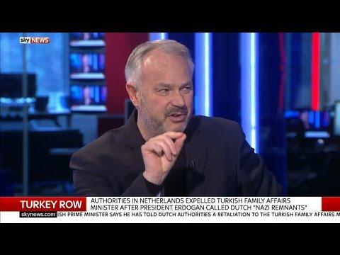 Tim Marshall talks Turkey on Sky News