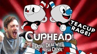 Cuphead | TEACUP RAGE! (Cuphead PC Gameplay)