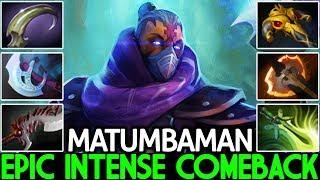 MATUMBAMAN [Anti Mage] Intense Comeback Late Game Boss 7.23 Dota 2